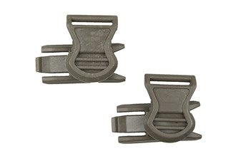 Goggle Swivel Clips (19mm)  - foliage green