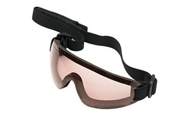 Low profile goggles - red