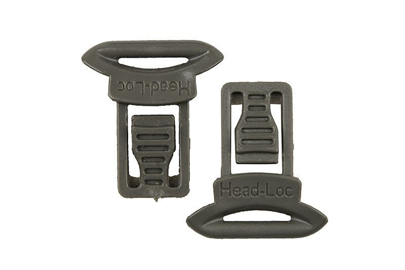 Goggle Swivel Clips Set ( Model A ) - foliage green
